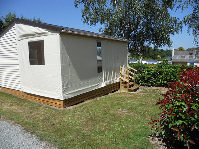 mobil-home camping fouesnant
